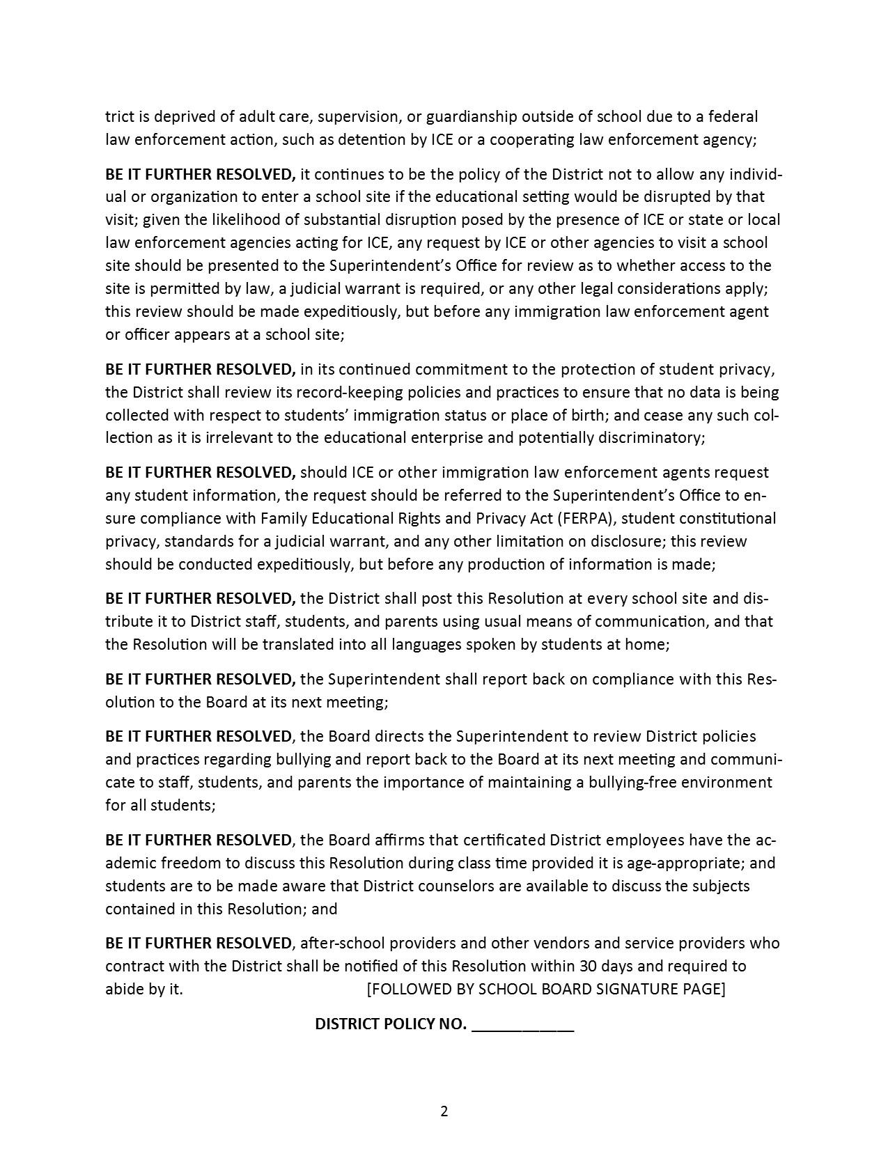 Resolution Page 2